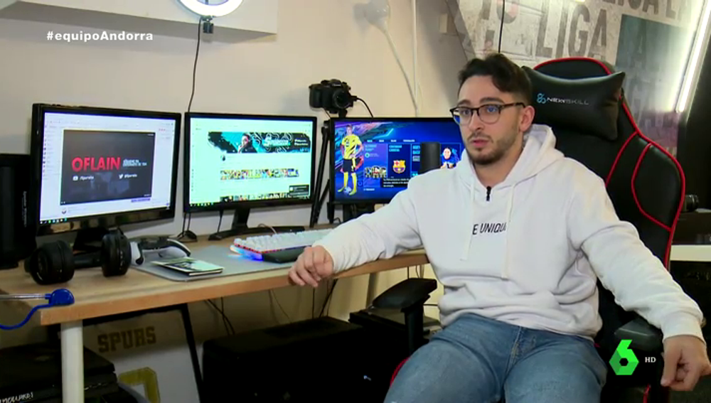 El youtuber Martí Miras, 'Spursito'