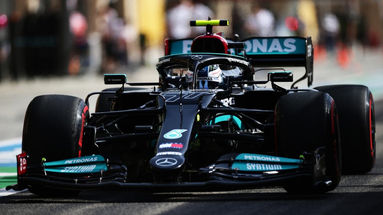 Valtteri Bottas, con el Mercedes