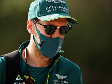 Sebastian Vettel, piloto de Aston Martin