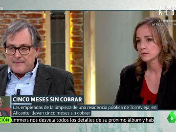 Francisco Marhuenda y Tania Sánchez