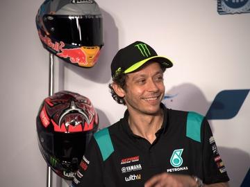 Valentino Rossi, en el GP de Qatar