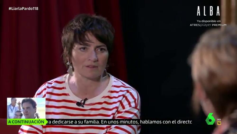 Silvia Abril en Liarla Pardo