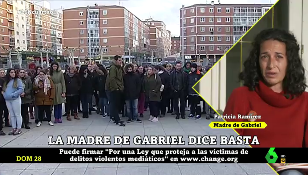 La madre de Gabriel Cruz