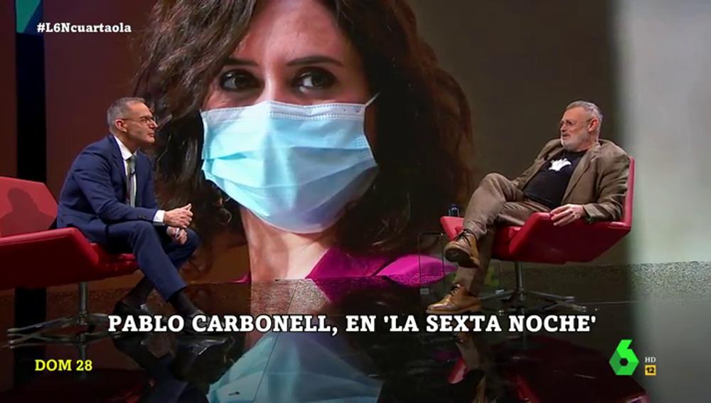 Pablo Carbonell en laSexta Noche
