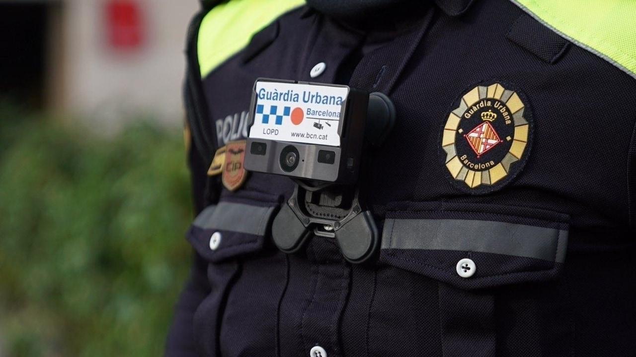 Imagen de un agente de la Guardia Urbana de Barcelona