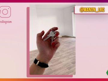 Este es el motivo por el que nunca debes publicar una foto con las llaves de tu nueva casa