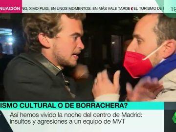 Agreden e insultan a un equipo de Más Vale Tarde durante la grabación de un reportaje en Madrid
