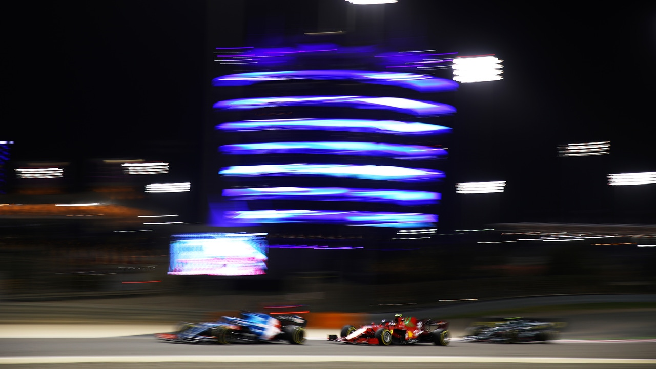 Sainz, Vettel y Alonso
