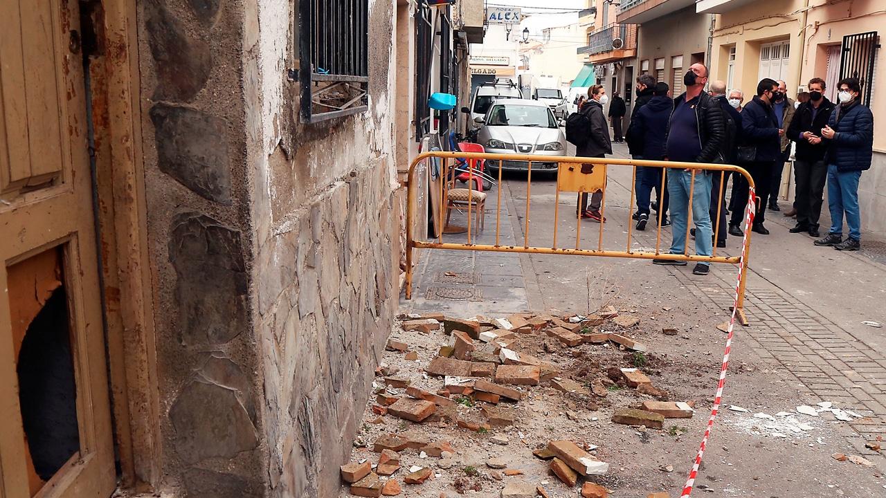 La población de Santa Fe, en Granada, el pasado mes de enero después de ser el epicentro de una veintena de seísmos de baja intensidad.