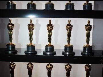 Imagen de las estatuillas de los Oscar
