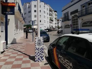 Comisaría de la Policía Nacional en Estepona (Málaga)