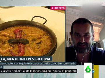 """Las declaraciones del chef David de Jorge sobre la paella que harán 'estallar' a los valencianos: """"Nos estamos volviendo gilipollas"""""""