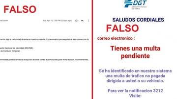 La DGT alerta de un nuevo timo relacionado con multas falsas y la caducidad del carnet de conducir
