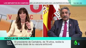 Revilla revela que le escribe un whatsApp diario a Pedro Sánchez para pedirle que presione con las vacunas