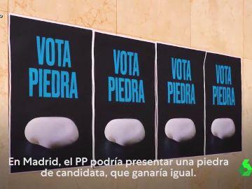 Wyoming contesta al vídeo de Podemos comparando a Ayuso con una piedra