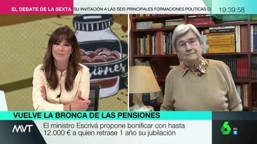 """""""La medida es un regalo envenenado"""": Miren Etxezarreta advierte del """"peligro"""" del incentivo de 12.000 euros para retrasar la jubilación"""