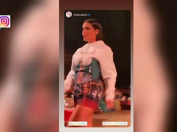 El espectacular vídeo de Lorena Castell desfilando como modelo para Eduardo Navarrete