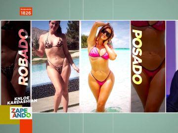 """""""Los haters están descubriendo que es una persona real"""": así es la foto en bikini que Khloe Kardashian trata de borrar de Internet"""