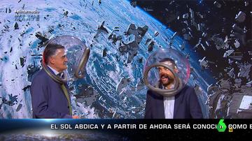 Barrenderos espaciales o la polémica por los tampones de una astronauta: las noticias más surrealistas del espacio