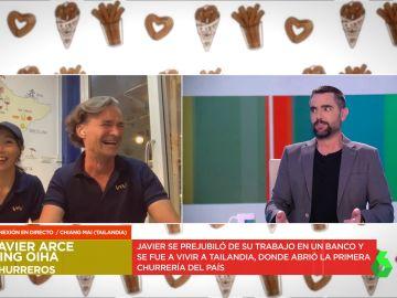 """La divertida reacción de una extranjera al hablar en español en directo que desata las risas del plató: """"Culete"""""""