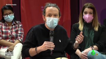 Vídeo manipulado - La impecable interpretación de Pablo Iglesias cantando en francés en pleno mitin