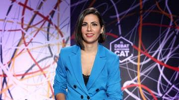 La periodista Ana Pastor moderó 'El Debat' de las elecciones catalanas