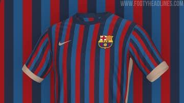 Filtran la posible camiseta del FC Barcelona para la 2022/2023