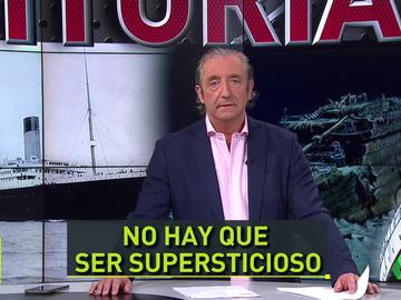 """Pedrerol, sobre el hotel 'Titanic' en el que aloja el Real Madrid en Liverpool: """"Ser supersticioso da mala suerte"""""""