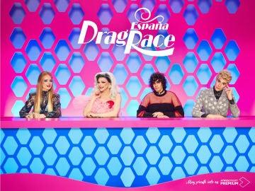 Primeros carteles de Drag Race España con Supremme de Luxe, Javier Calvo, Javier Ambrossi y Ana Locking