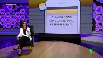 """Cristina Gallego 'revela' lo que Ayuso esconde en su lista de 'cosas buenas de ser presidenta': """"Ser best friend de Ana Rosa"""""""