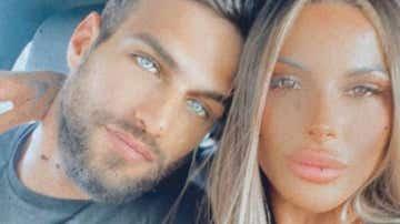 Jesús Castro y su novia Alba Casillas
