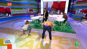 """Valeria Ros y Miki Nadal lo dan todo con el twerking en directo: """"Demostremos a este gentuza cómo se perrea"""""""