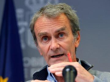 El director del CCAES, Fernando Simón, el lunes