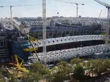 El nuevo Bernabéu empieza a coger forma: nuevos detalles del coliseo blanco