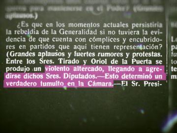 Violencia en la República: Cuando Indalecio Prieto sacó una pistola en el Congreso para defender a un compañero agredido
