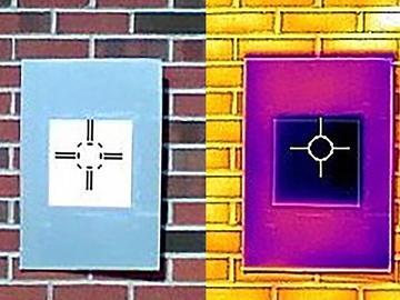 Crean una pintura tan blanca que enfría los edificios más que un climatizador