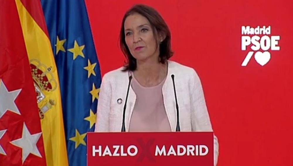 Reyes Maroto se incorpora a la lista de Gobierno de Ángel Gabilondo