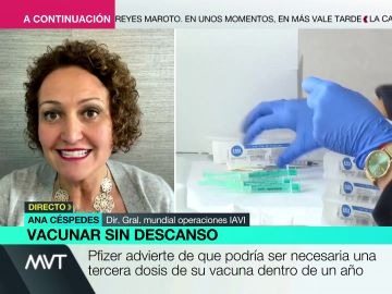 """La advertencia de la experta Ana Céspedes: """"Es muy probable que todas las vacunas requieran tercera dosis"""""""