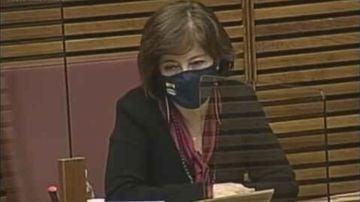 La portavoz de Igualdad de Vox en la Comunidad Valenciana, María de los Ángeles Criado.