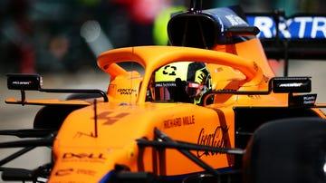 Lando Norris, en el McLaren
