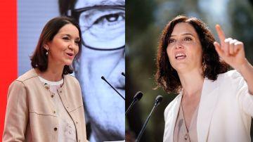 Reyes Maroto e Isabel Díaz Ayuso