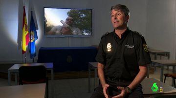 Pedro Agudo, policía