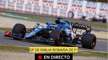 Fernando Alonso, en el GP de Imola