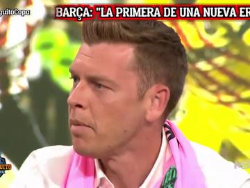 """El mensaje de Jota Jordi a la bancada del Real Madrid en 'El Chiringuito': """"Me llega un olor a miedo..."""""""