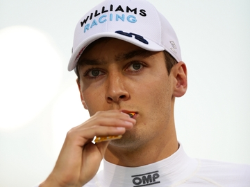 George Russell, piloto de Williams