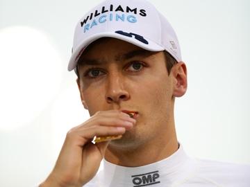 George Russell, piloto de Williams