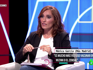 Mónica García vacunación Ayuso
