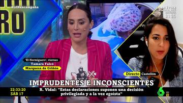 Rocío Vidal en laSexta Noche