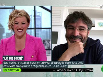"""El divertido 'pique' entre Cristina Pardo y Jordi Évole: """"¿Vas de fiesta?"""""""
