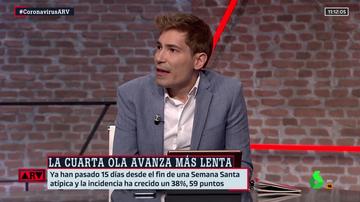 Juanma Romero en Al Rojo Vivo